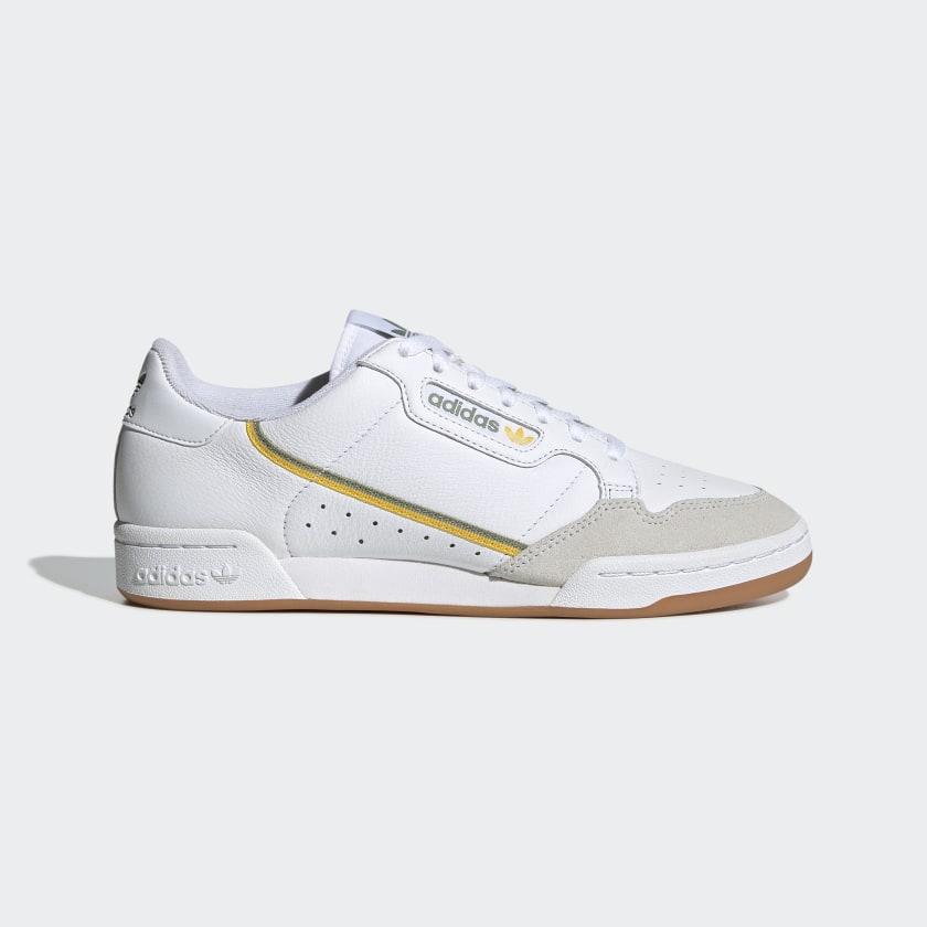 Grave Chapoteo Paso  adidas Tenis Continental 80 - Blanco | adidas Mexico