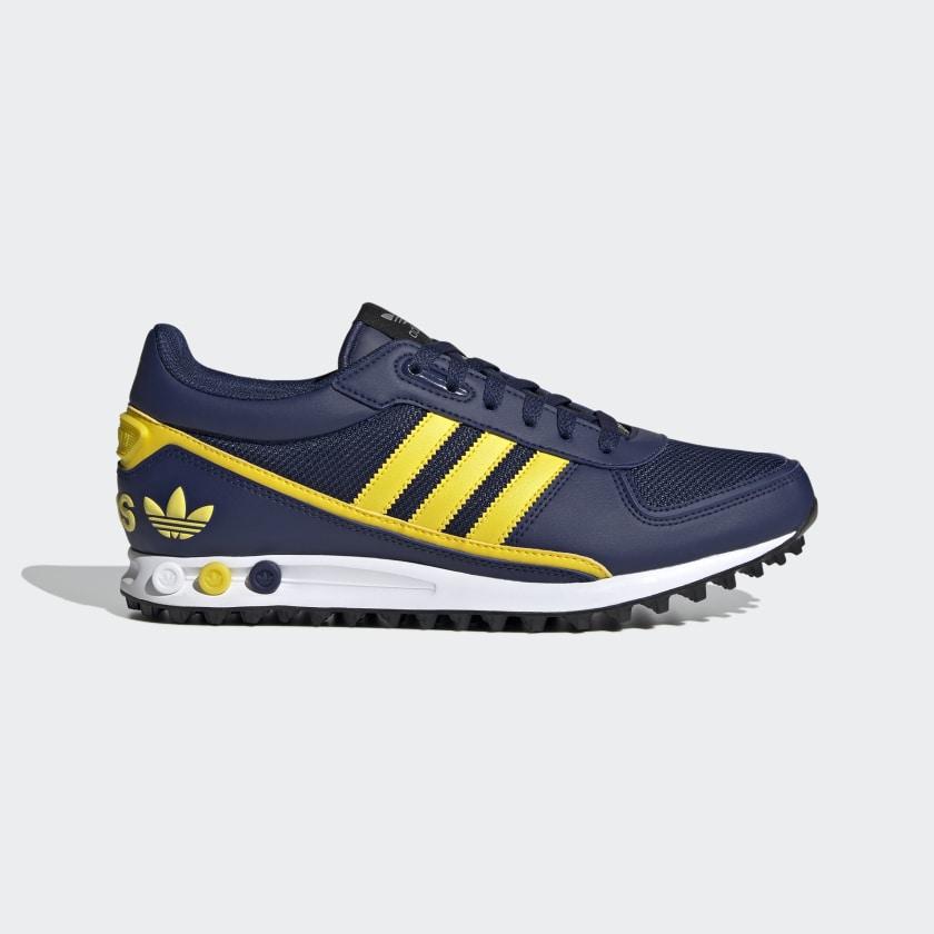 adidas la trainer blue yellow