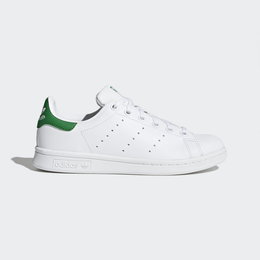 diseño Acuario Ondular  Kids Stan Smith Cloud White and Green Shoes | adidas US