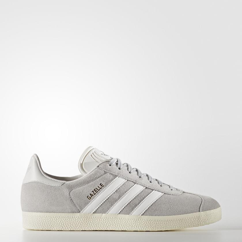 Gazelle Shoes - Grey | adidas Canada