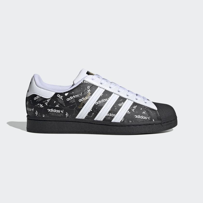adidas scarpe nere superstar