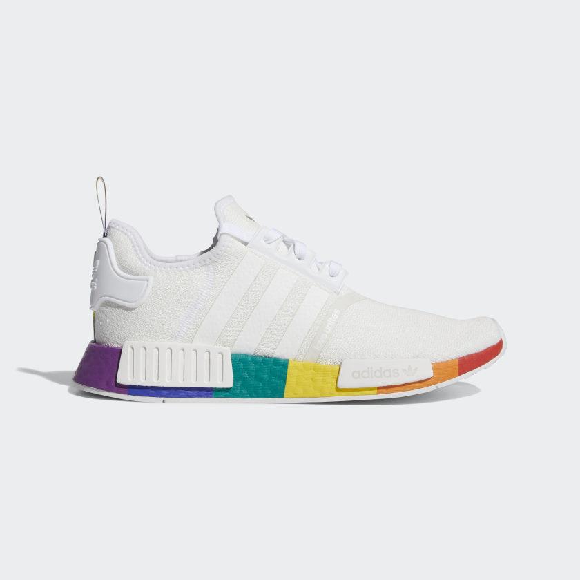 adidas NMD_R1 Pride Shoes - White | adidas US