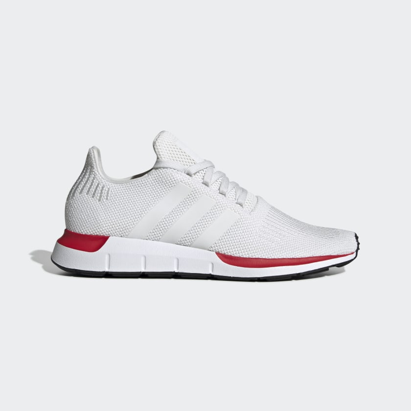 Men's Swift Run Crystal White and Red