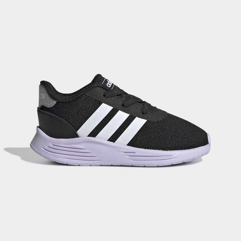 black adidas youth shoes