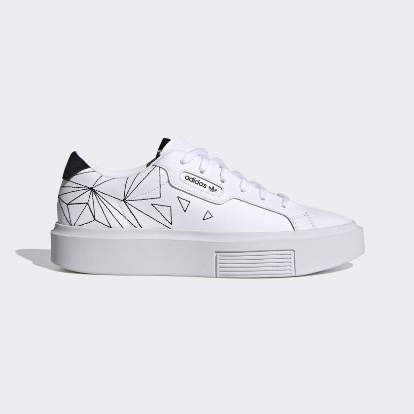 adidas Sleek Super Shoes - White