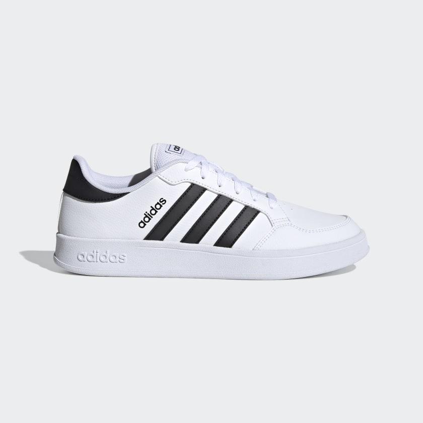 adidas Breaknet Shoes - White | adidas US