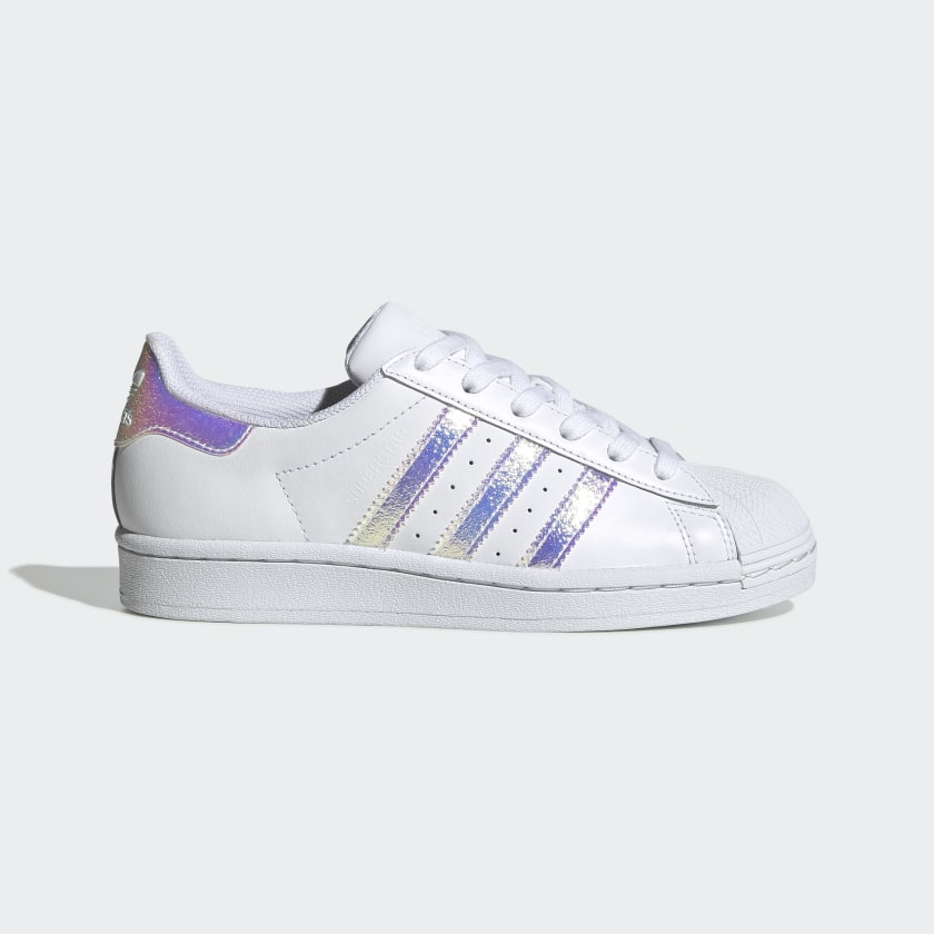 alma sucesor Tratamiento Preferencial  Kids Superstar Cloud White Iridescent Shoes | adidas US