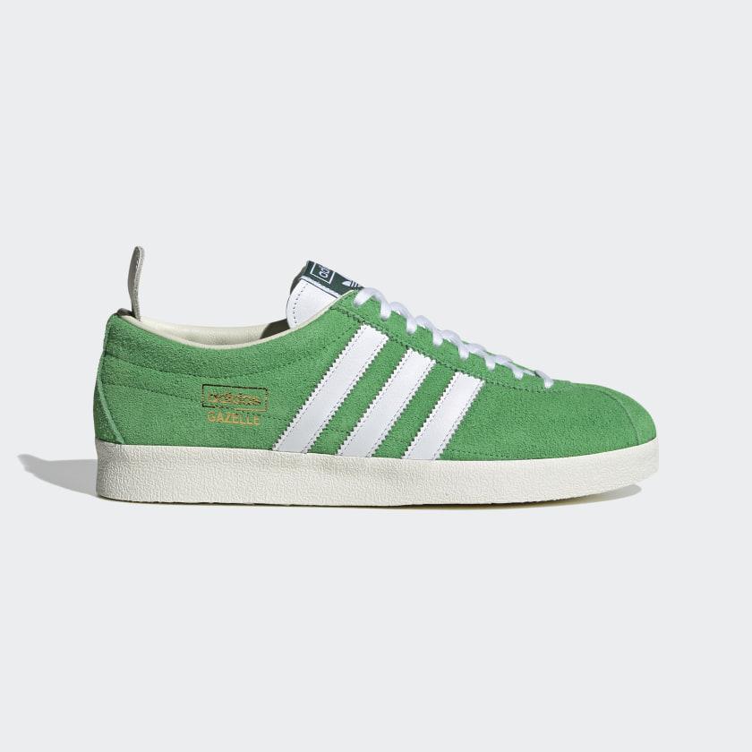 adidas Gazelle Vintage Shoes - Green | adidas US
