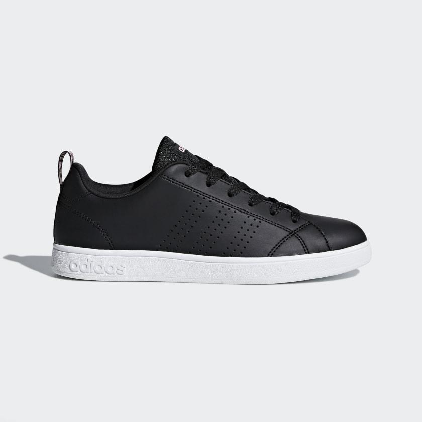 adidas VS Advantage Clean Shoes - Black | adidas US