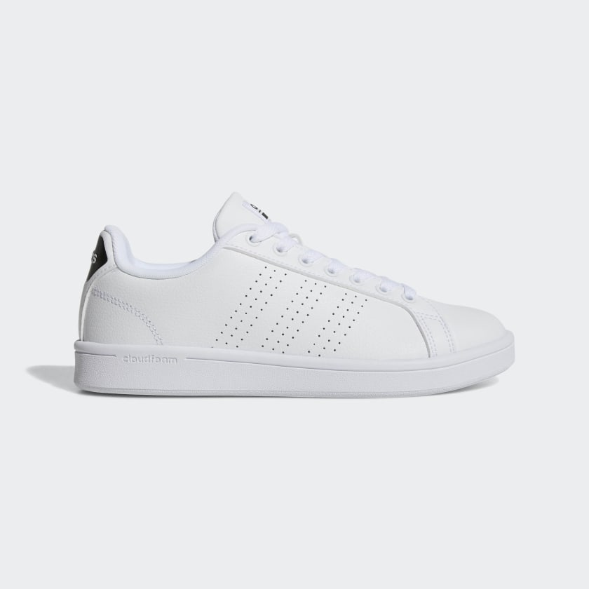 adidas Cloudfoam Advantage Clean Shoes - White | adidas US