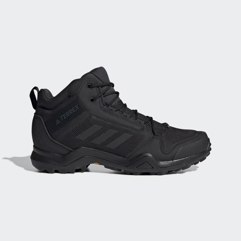 adidas Terrex AX3 Mid GORE-TEX Hiking Shoes - Black | adidas US