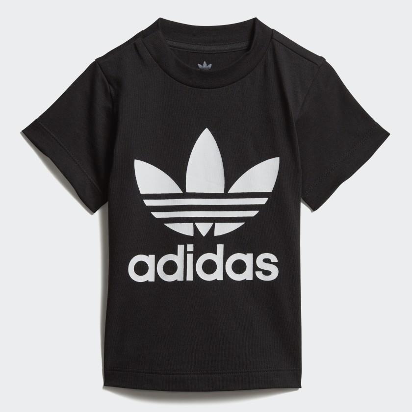 ADIDAS Mädchen Shirt Trefoil schwarz   140
