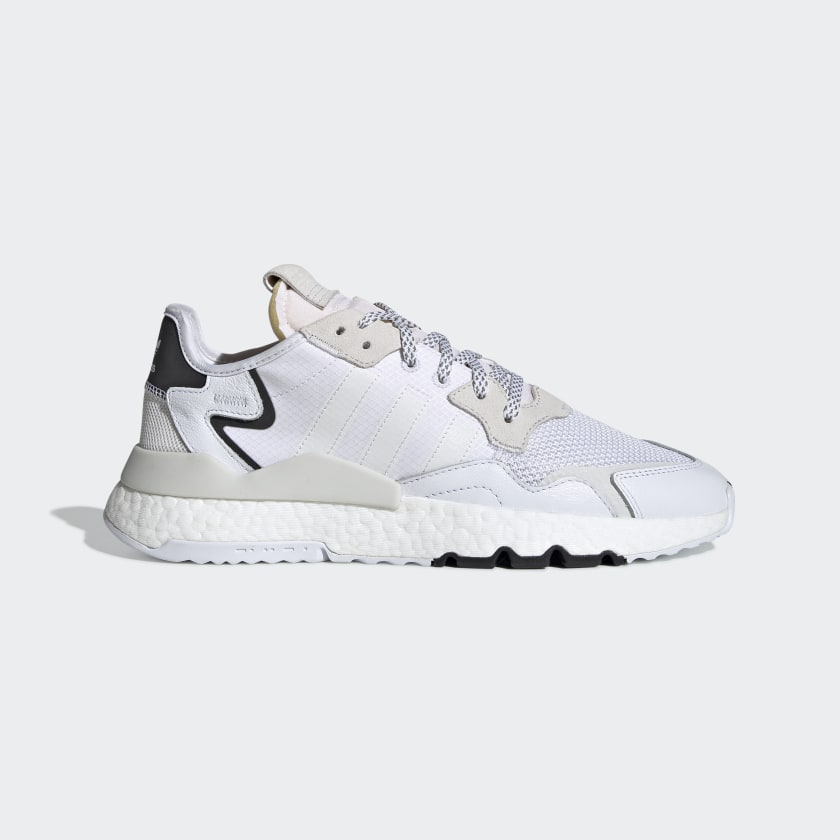 adidas Кроссовки Nite Jogger - белый