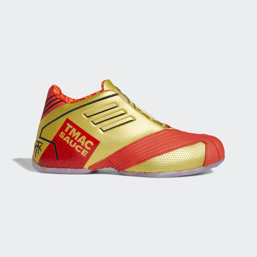 adidas T-Mac 1 McDonald's Shoes - Red   adidas US