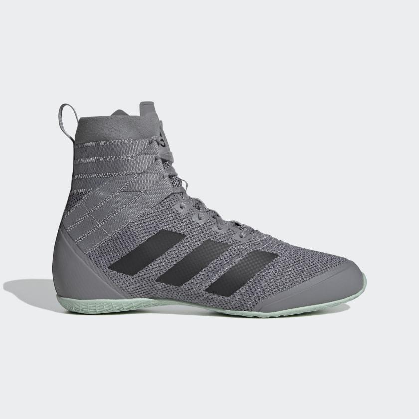 adidas Speedex 18 Boxing Shoes - Grey | adidas US