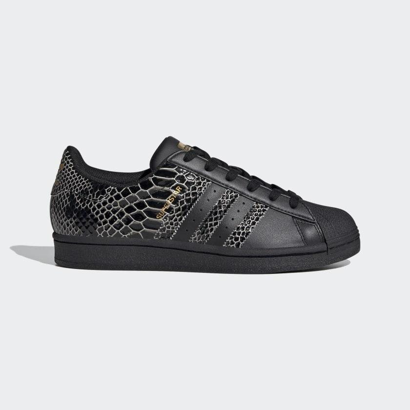 adidas Superstar Women's Shoes - Black