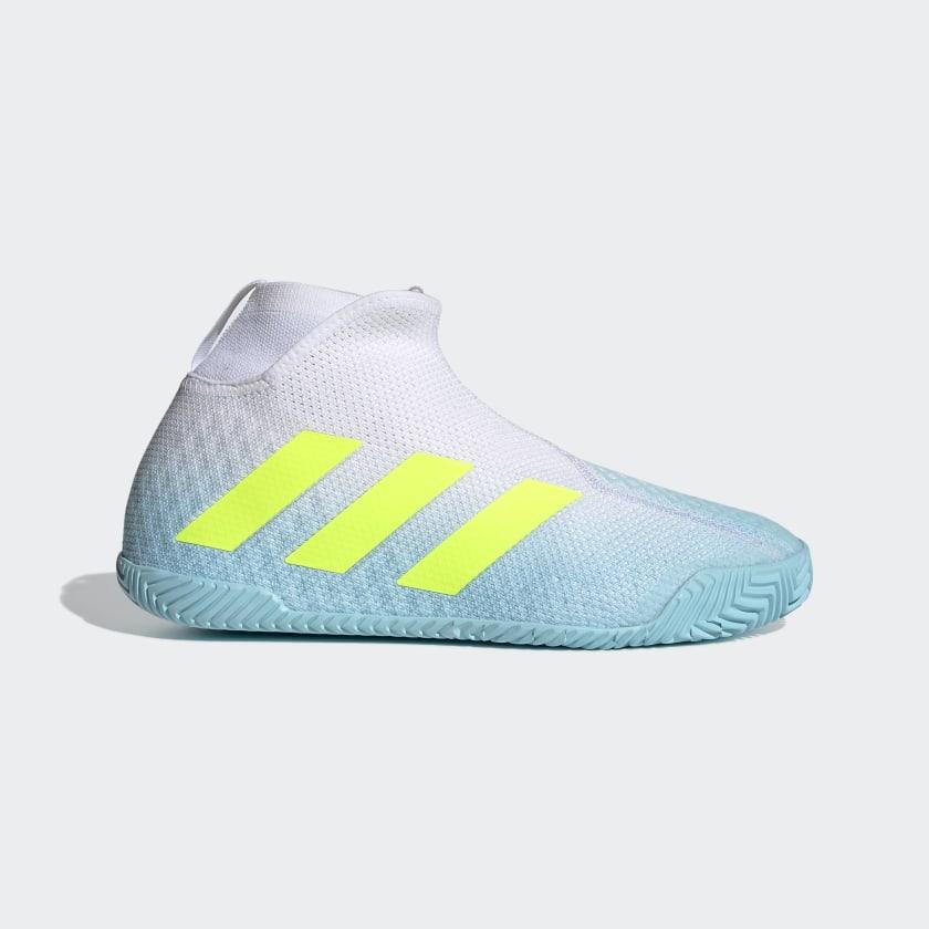 adidas Stycon Laceless Hardcourt Tennis Shoes - Blue   adidas Canada