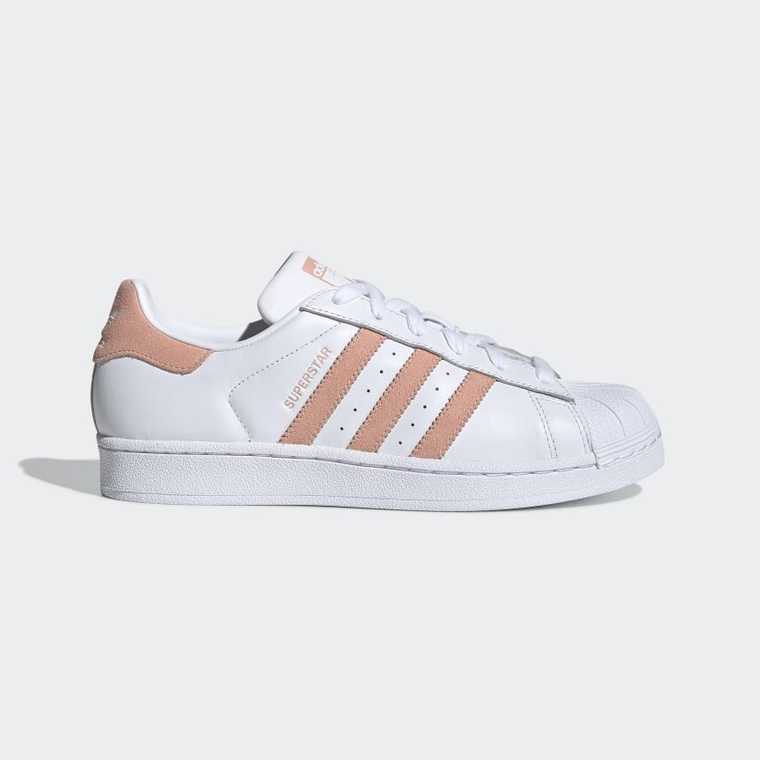 Materialismo Fortalecer Tiempo de día  Women's Superstar Cloud White and Glow Pink Shoes | adidas US