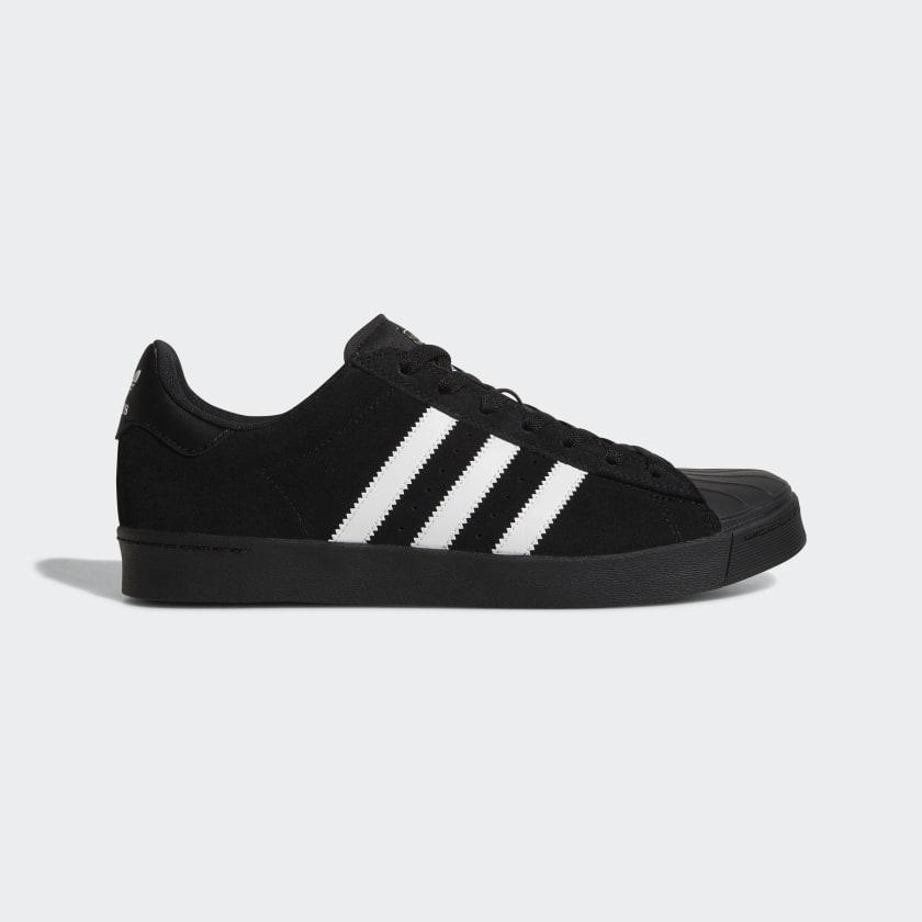 adidas Superstar Vulc ADV Shoes - Black