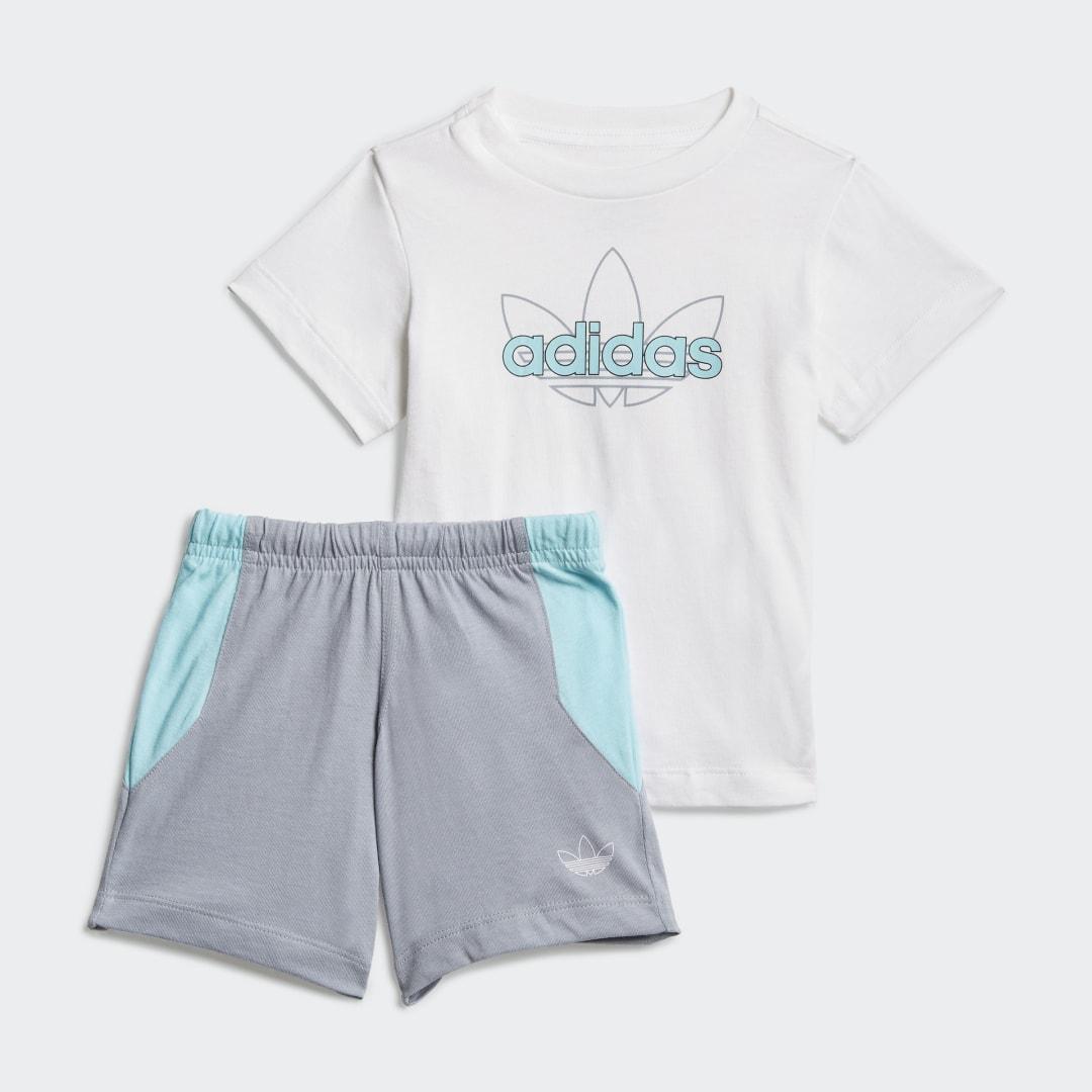 adidas SPRT Collection Short Graphic T-shirt Set