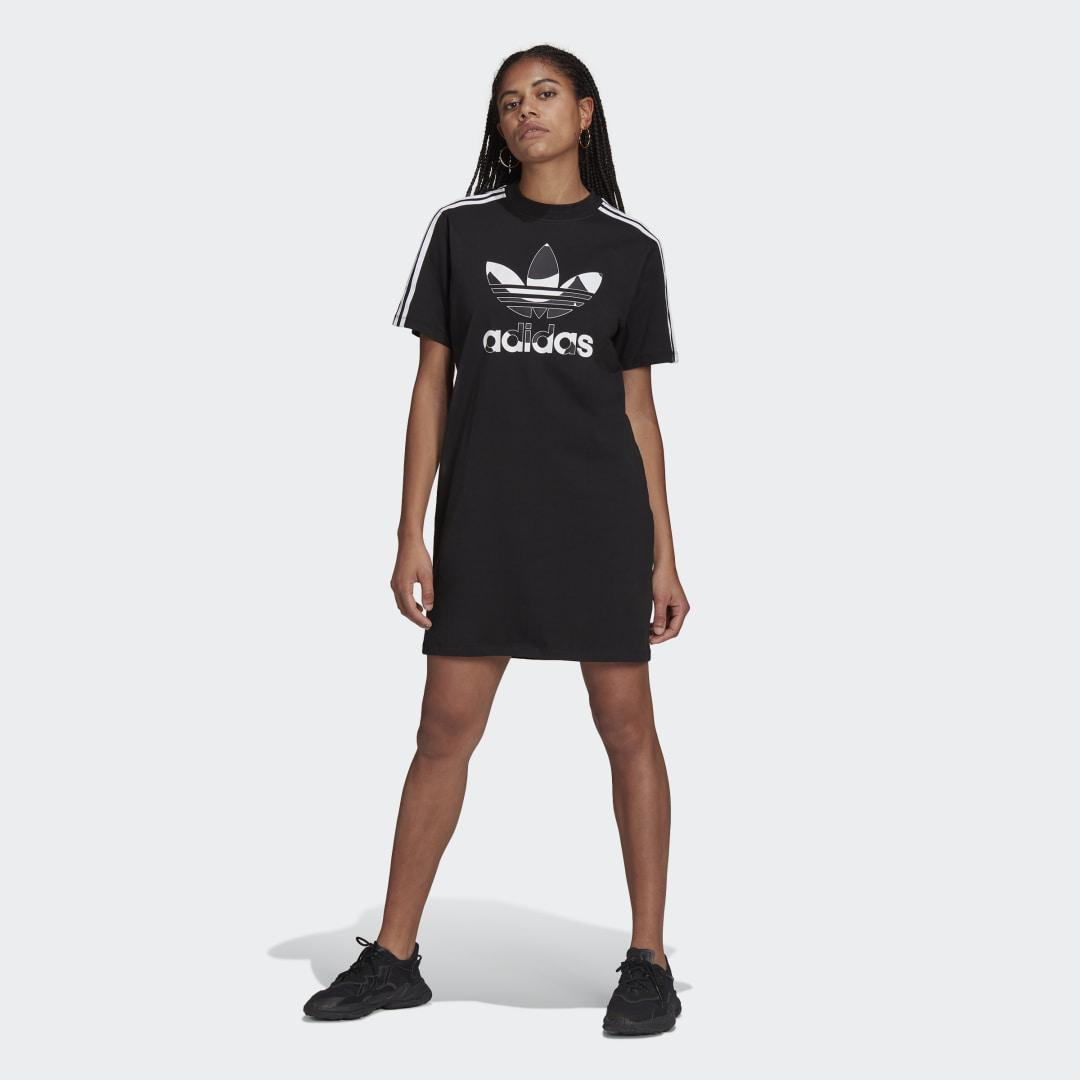 Marimekko Trefoil Print Infill T-shirt Jurk