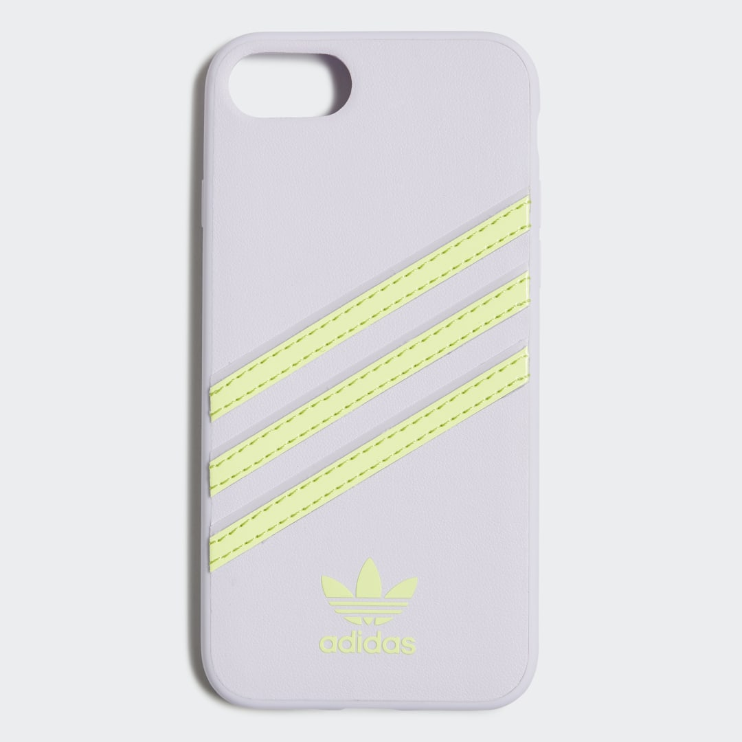 adidas Give your iPhone an adidas Originals makeover. This protective case offers easy access to volume buttons and ports for full control when you\\\'re on the go. Stitched-in 3-Stripes recreate the look and feel of the original Samba trainers.