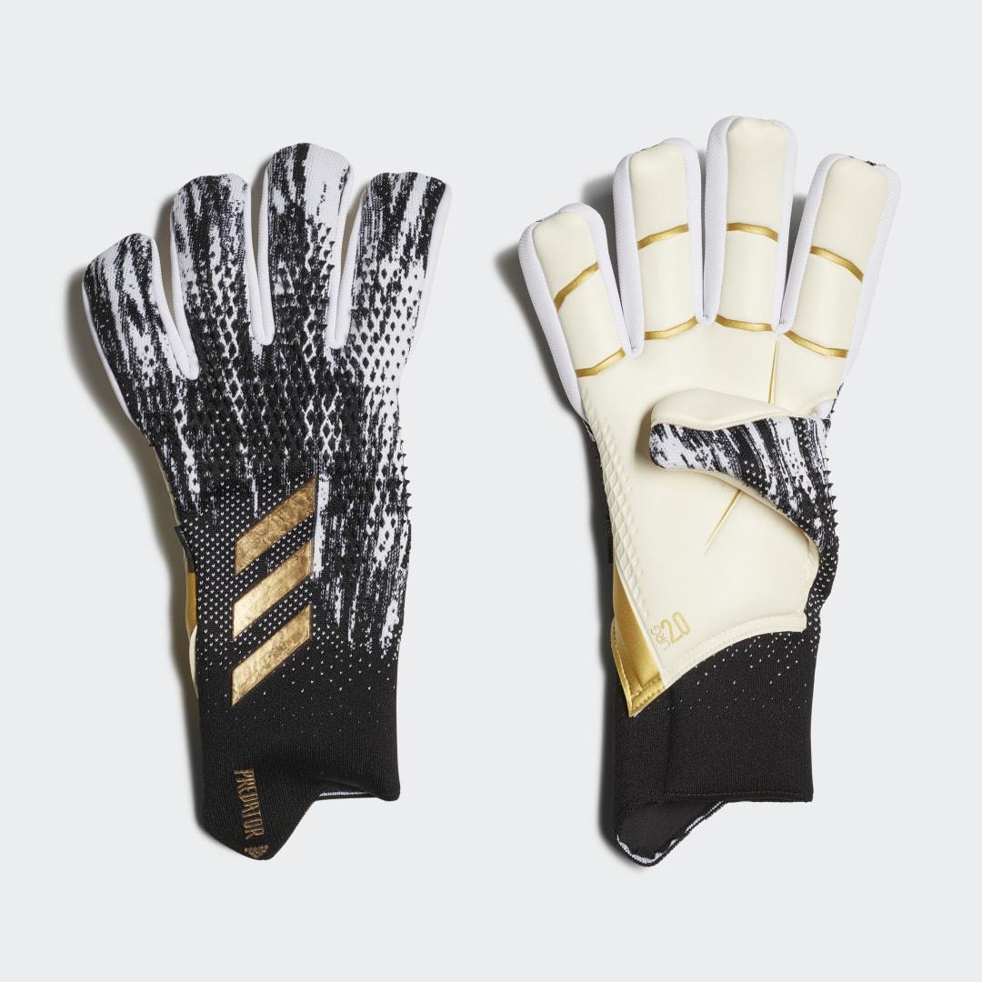 Вратарские перчатки Predator 20 Pro Fingersave adidas Performance