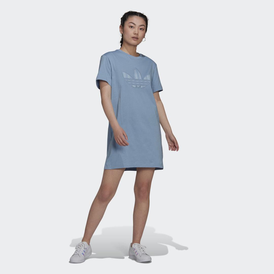 Trefoil Application T-shirt Jurk