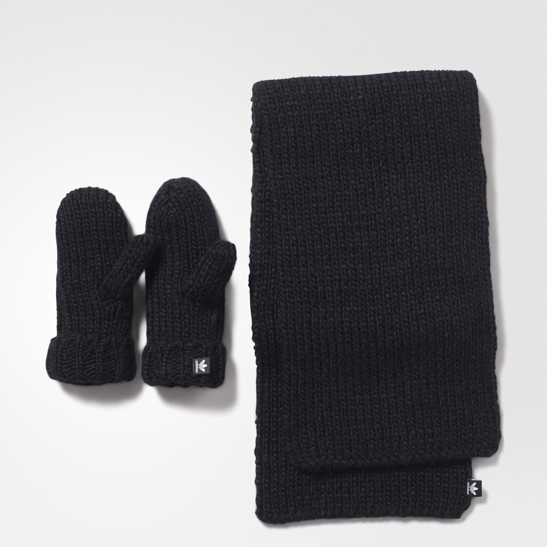 Комплект: варежки и шарф adidas Originals