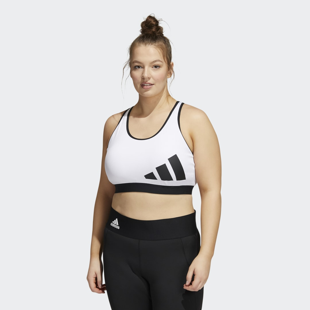 Believe This Medium-Support Workout Logo Beha (Grote Maat)