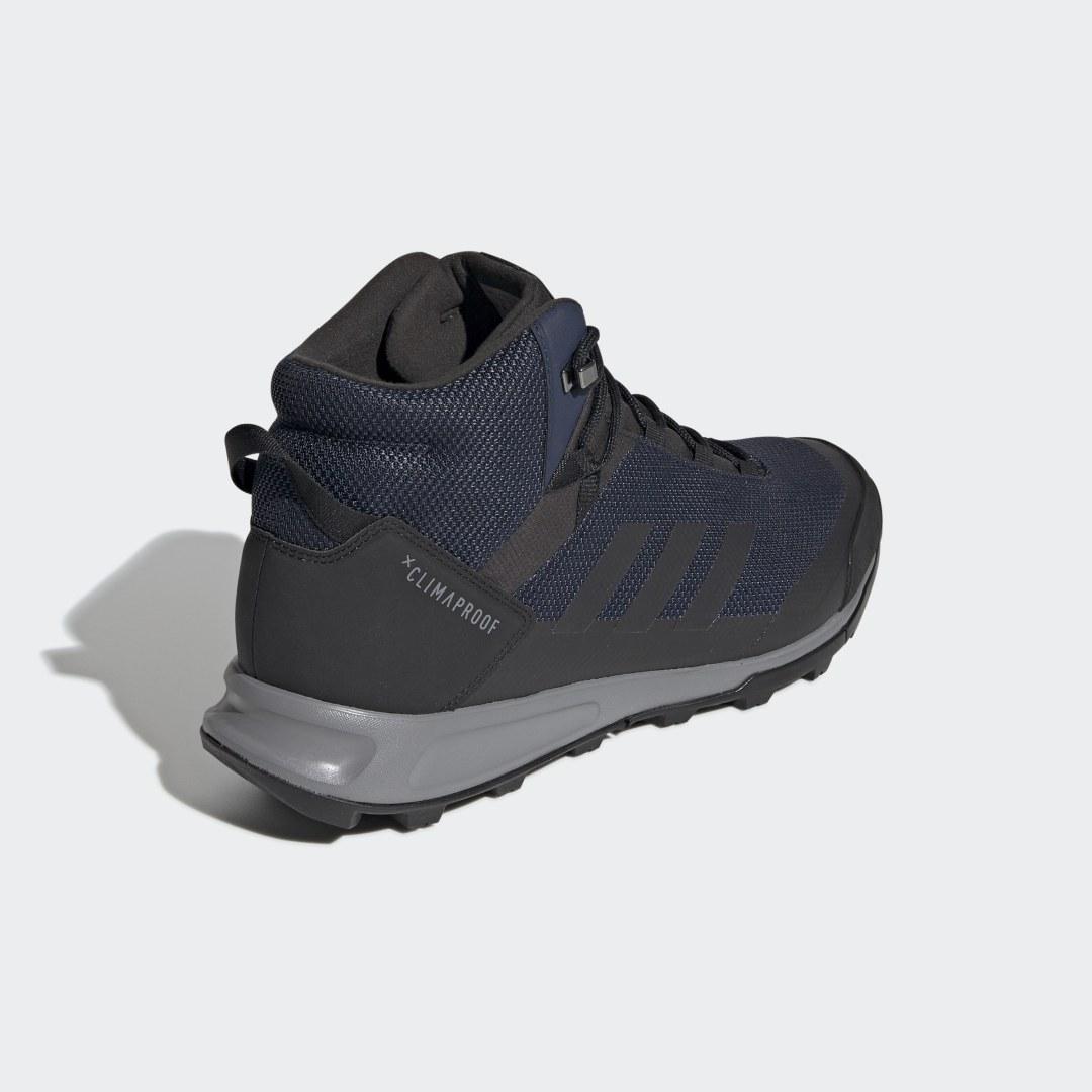 Фото 2 - Кроссовки TERREX Tivid Mid ClimaProof adidas TERREX черного цвета