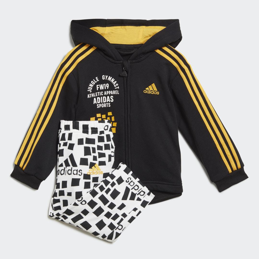 Комплект: толстовка и брюки Graphic Hooded adidas Performance