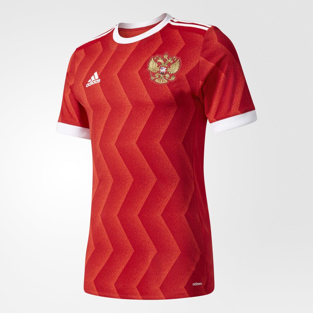 Игровая футболка сборной России Home adidas Performance