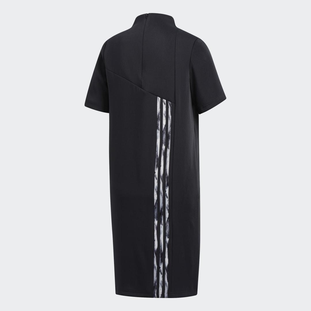 Фото 2 - Платье Daniëlle Cathari adidas Originals черного цвета