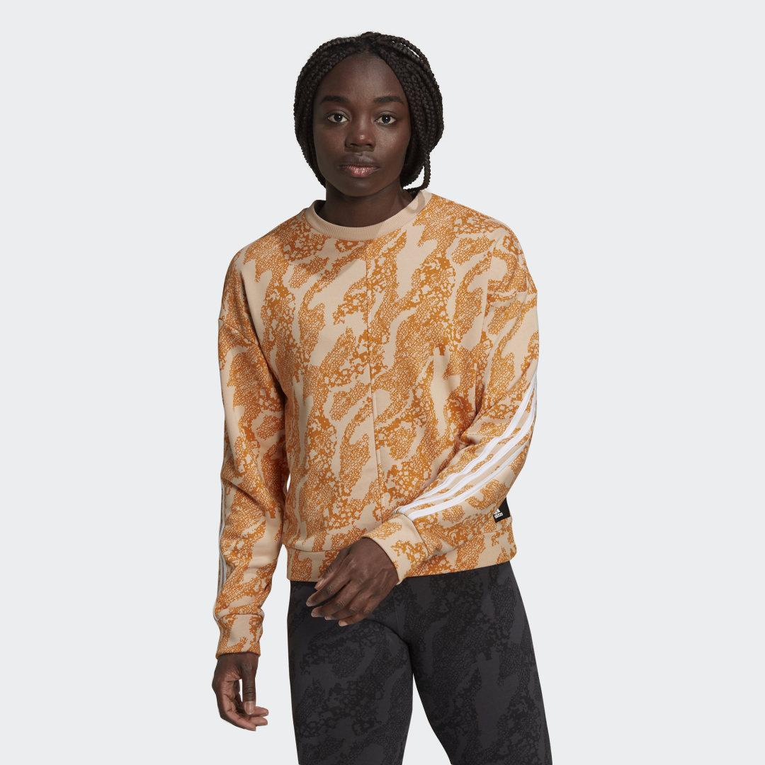 adidas Sportswear Future Icons Animal-Print Sweatshirt