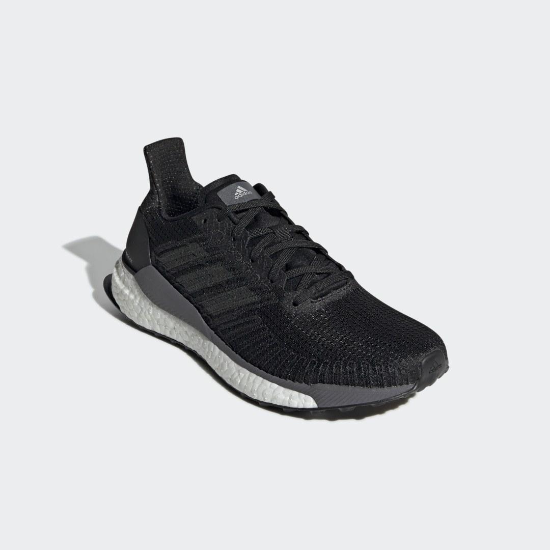 Фото 7 - Кроссовки для бега SolarBoost 19 adidas Performance черного цвета