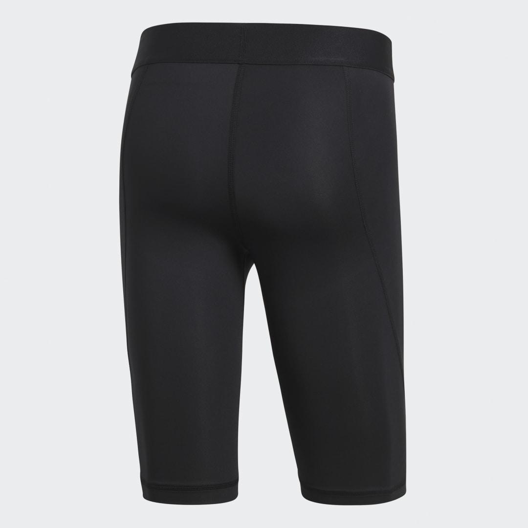 Фото 3 - Укороченные тайтсы Alphaskin Sport adidas Performance черного цвета