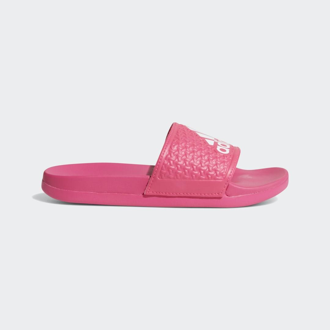 женские шлепанцы adidas, фиолетовые