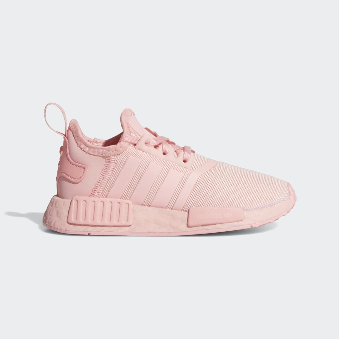 adidas They may still take naps and need sippy cups, but the next generation of sneakerheads is ready to make their mark. These toddlers\\\' adidas NMD_R1 Shoes blend the best of adidas running technology and modern streetwear style for a design that honors the past and looks to the future.
