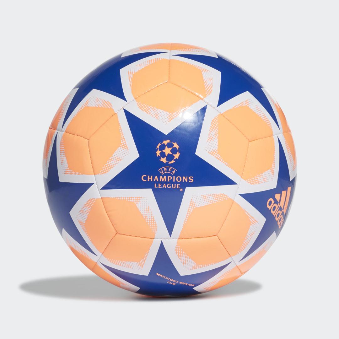 Футбольный мяч UCL Finale 20 adidas Performance синего цвета