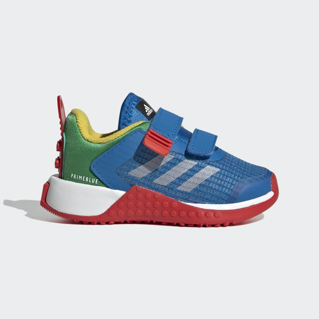 Кроссовки для бега adidas x LEGO® Sport белого цвета