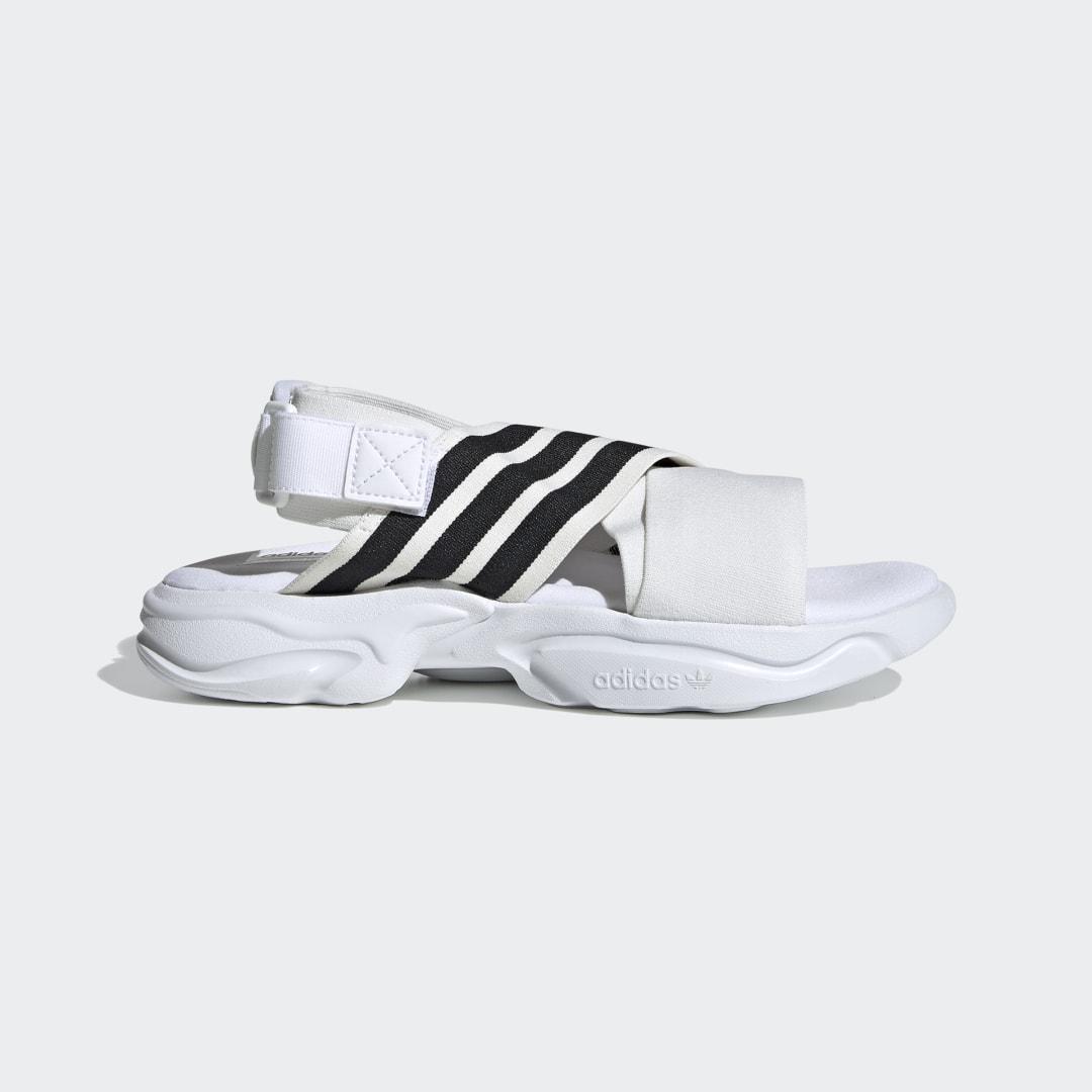 adidas Magmur Sandals Cloud White 5 Womens Shoes