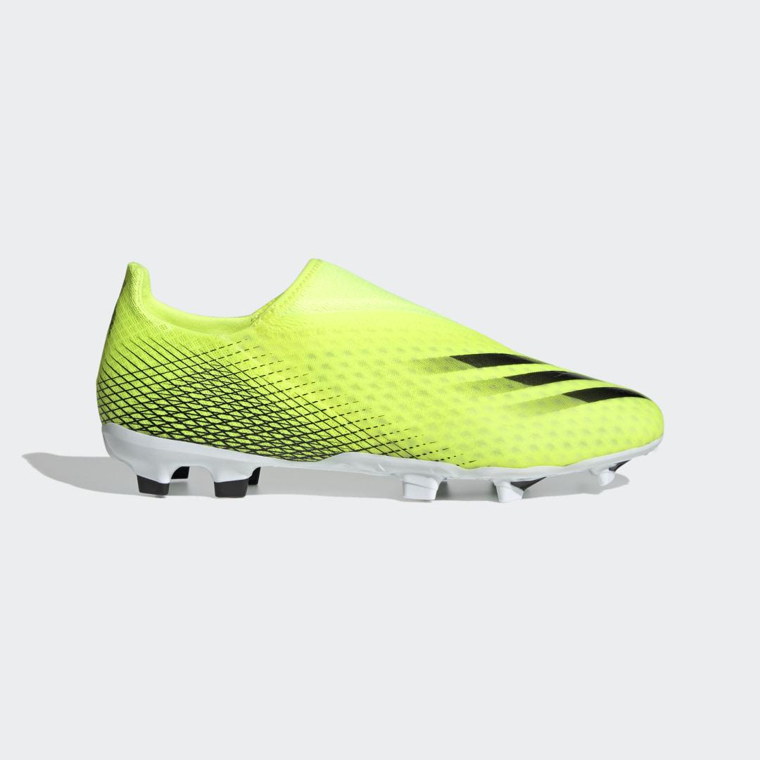 Футбольные бутсы X Ghosted.3 Laceless FG adidas Performance