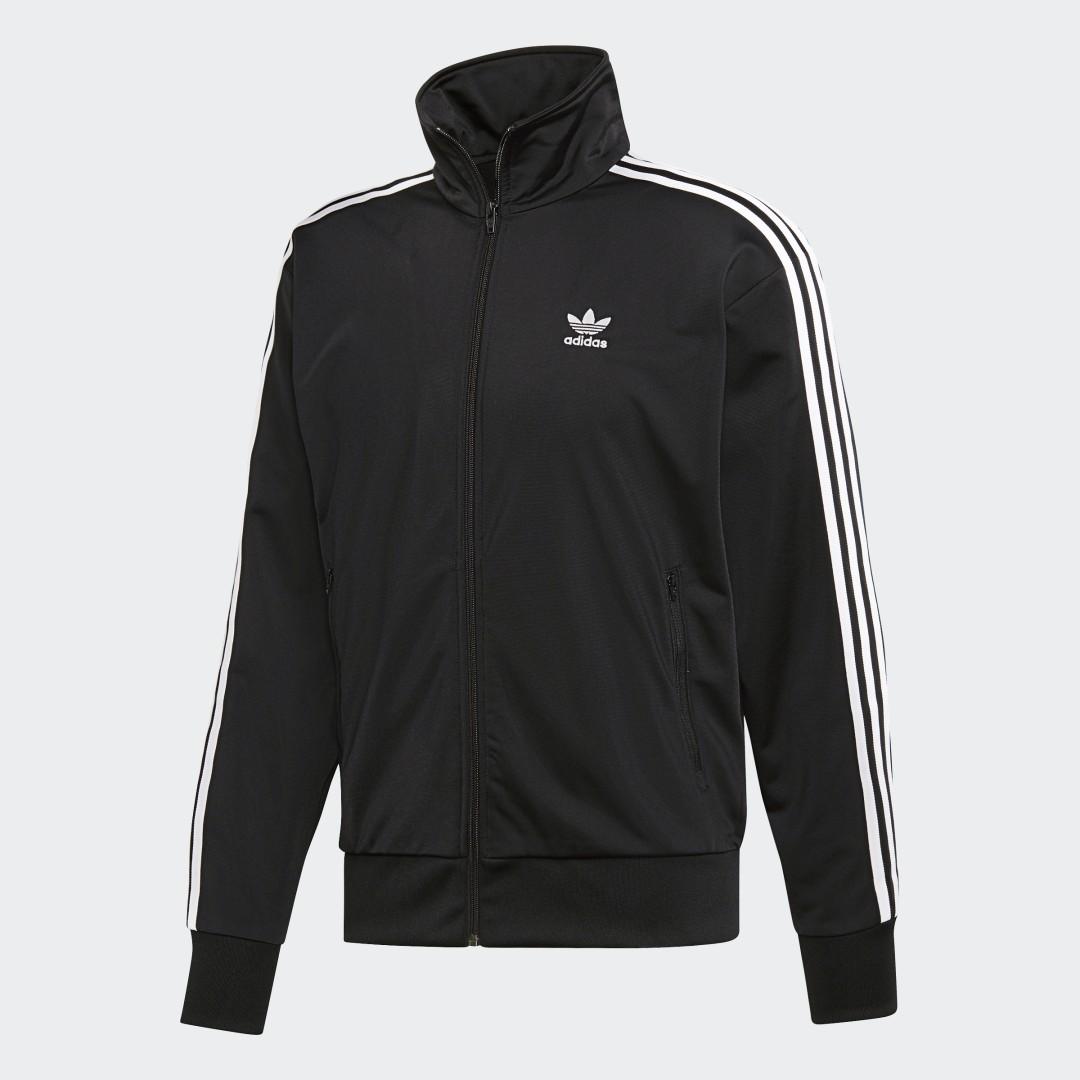Фото - Олимпийка Firebird adidas Originals черного цвета