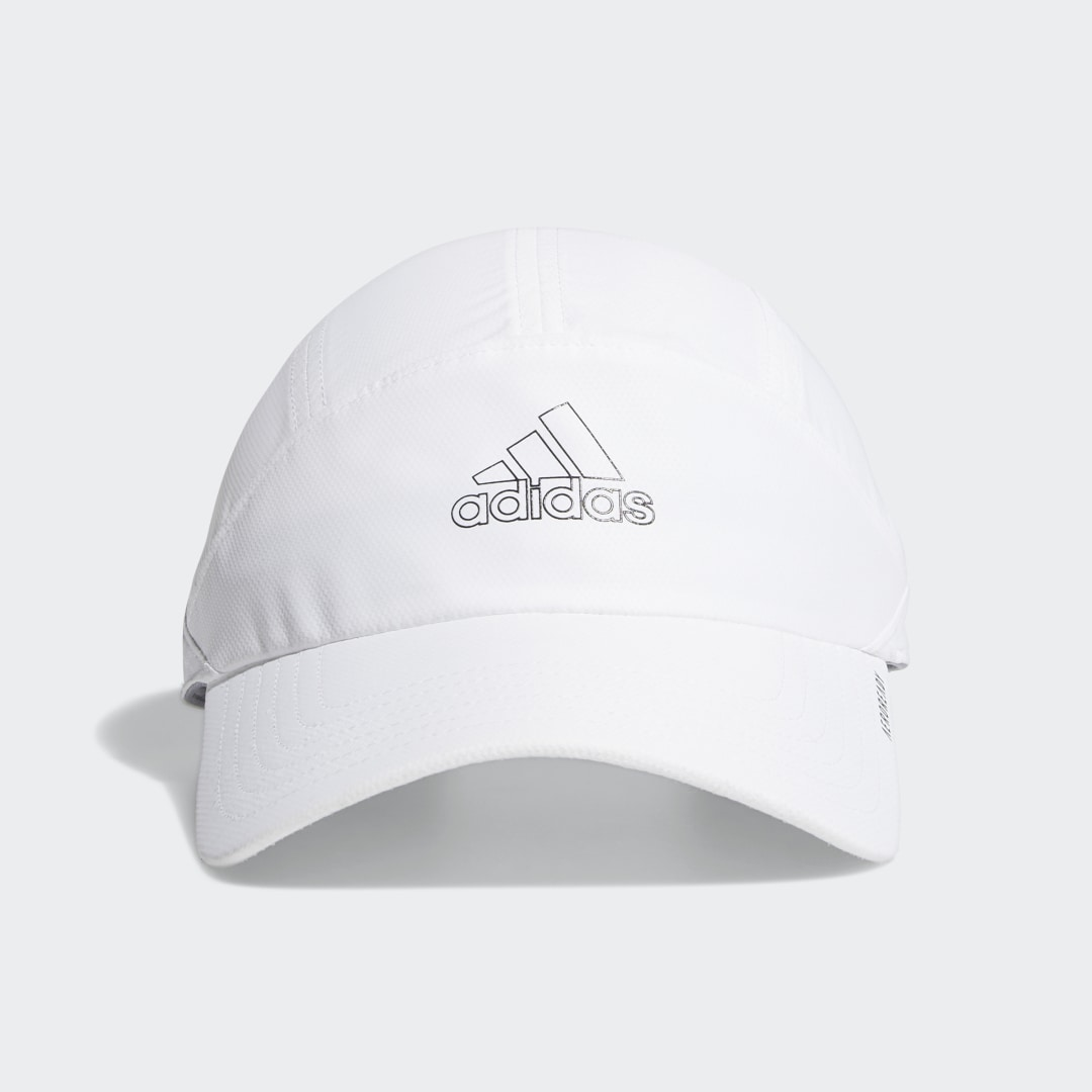 adidas Look great. Feel great. Just as the name suggests, this adidas hat is lightweight for a barely there feel. Adjust the strap in back to find the right fit.