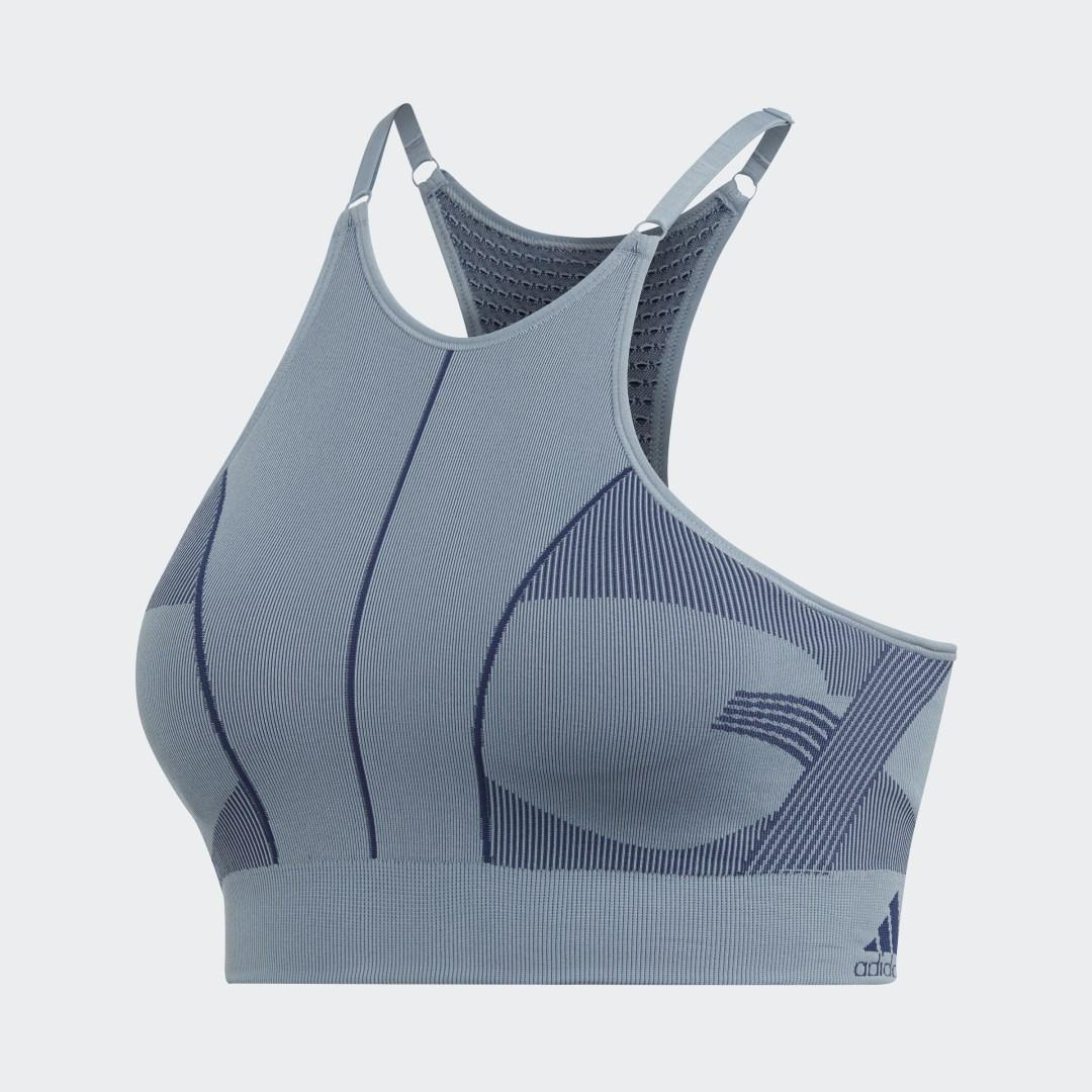 adidas Спортивный бра Primeknit adidas by Stella McCartney