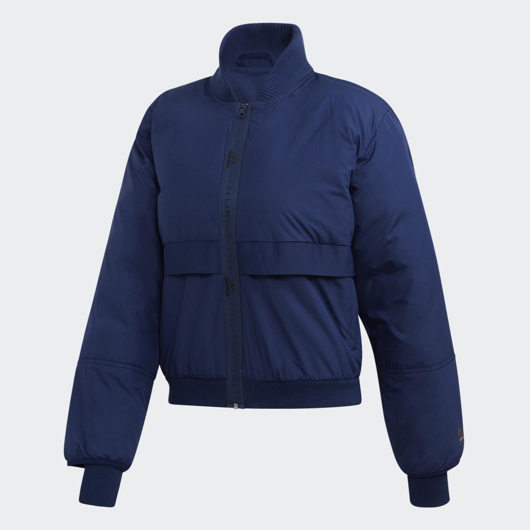 Утепленная куртка-бомбер Athletics adidas by Stella McCartney
