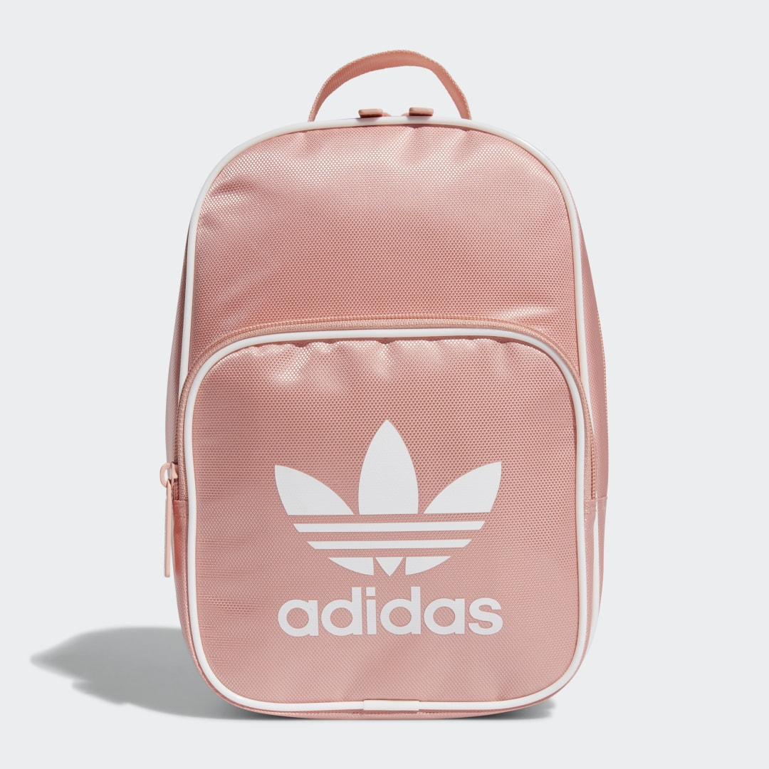 adidas Serve up lunch with a side of chic. Fully padded with a glossy sheen, this adidas lunchbox makes a fashion statement while also protecting your apple from bruising. Roomy enough for all your snacks, it even has an outer mesh pocket to hold your book or tablet while you eat.