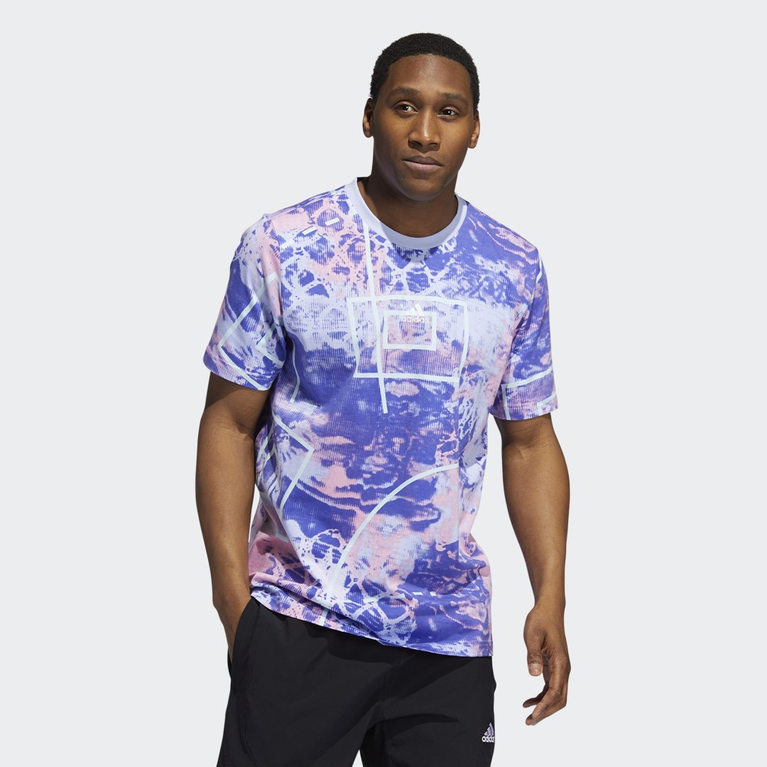 Throwback Allover Print T-shirt