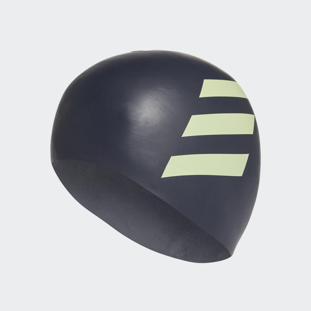 Плавательная шапочка 3-Stripes Silicone adidas Performance